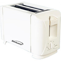 Brentwood TS-260A 2-Slice Toaster - White