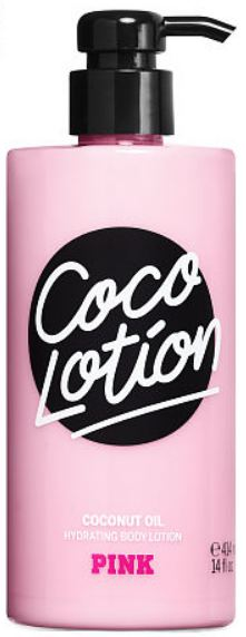 Victoria's Secret Pink Coco Lotion Coconut Oil Hydrating Body Lotion