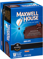 Maxwell House Mocha Medium Roast Coffee K-Cup