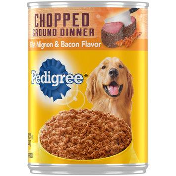 Pedigree® Chopped Ground Dinner Filet Mignon & Bacon Flavor Dog Food