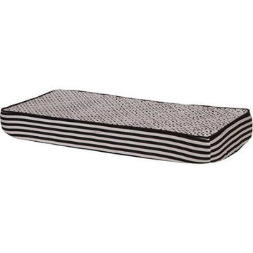 Bacati Pin Dots Changing Pad Cover Color: Black/White