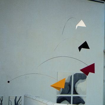 Flensted Mobiles Abstract Mirage Mobile Size: Large