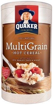Quaker Multi-Grain Hot Cereal 18 Oz Canister