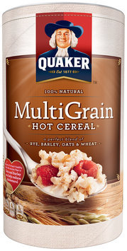 Quaker Multi-Grain Hot Cereal 18 Oz Canister