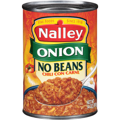 Nalley® Onion No Beans Chili con Carne 14 oz. Can