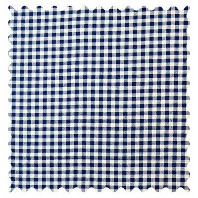 Stwd Royal Gingham Check Fabric by the Yard