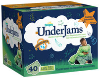 Pampers UnderJams Absorbent Underwear for Boys Size L/XL