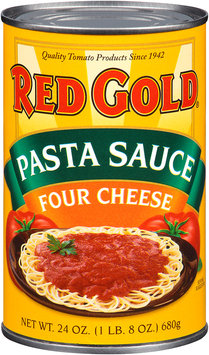 Red Gold® Four Cheese Pasta Sauce 24 oz. Can