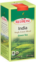 Red Rose® Organic India Single Estate Blend Green Tea 20 ct. Box