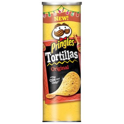 Pringles® Tortillas Original Tortilla Crisps 172g Canister