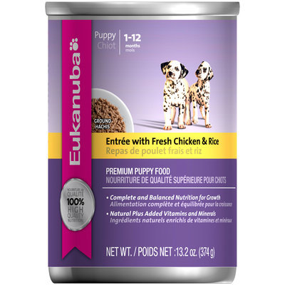 Eukanuba Puppy Entree with Chicken & Rice Dog Food 13.2 oz. Can