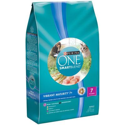 PURINA ONE® SmartBlend Vibrant Maturity 7+ Adult Premium Cat Food
