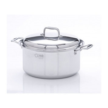 Cookware Stock Pot with Lid Size: 8 Quarts