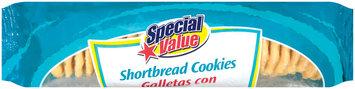 Special Value Shortbread Cookies 12 Oz Tray