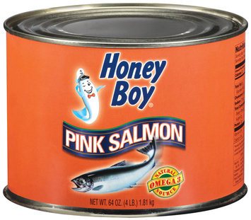Honey Boy Pink Salmon 64 Oz Can
