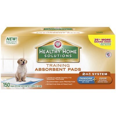 Arm & Hammer™ Healthy Home Solutions Training Absorbent Pads 150 ct Box