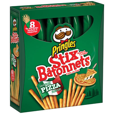 Pringles® Pizza Baked Crispy Stix® 8-15g Packs
