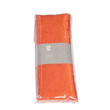 Saro Organza Fabric Bundle Color: Orange