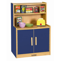 Early Childhood Resource ELR-0745-BL Colorful Essentials Play Cupboard - Blue