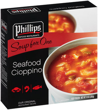 Phillips™ Soup for One Seafood Cioppino 10 oz. Box