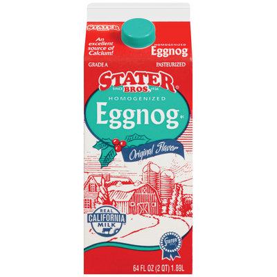 Stater Bros.® Homogenized Eggnog Original Flavor