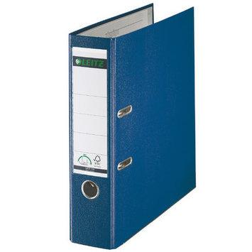Leitz 180° 10105035 DIN A4 Plastic Lever Arch Folder 80mm Width, Blue