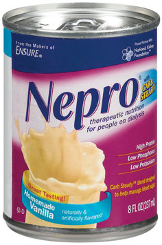 Nepro Homemade Vanilla W/Carb Steady Therapeutic Nutrition 8 Fl Oz Can