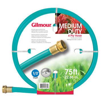 GILMOUR 1/2 X 75' 4 Ply Medium Duty Garden Hose