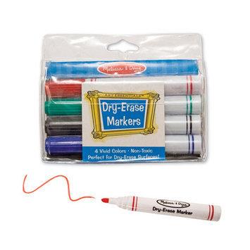 Melissa & Doug Dry-Erase Marker Set (4 pc)