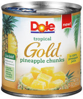 Dole® Tropical Gold® Pineapple Chunks 15.25 oz. Can