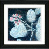 Studio Works Modern 'Marble Berries' Framed Fine Art Print