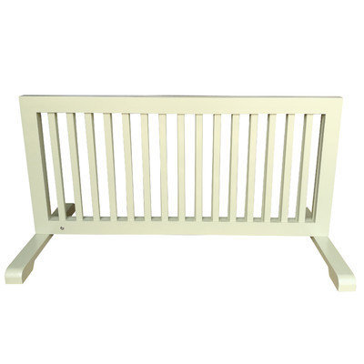 Mdog2 Free Standing Step Over Gate Finish: Light Green