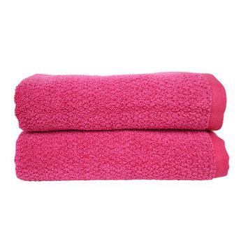 Fabbrica Home Diamond Jacquard Performance Core Bath Towel Color: Magenta