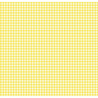 Stwd Primary Gingham Woven Mini Fitted Sheet Color: Yellow