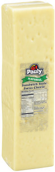 Pauly® Natural Sandwich Style Swiss Cheese