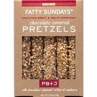 Fatty Sundays PB+J Milk Chocolate Covered Pretzels