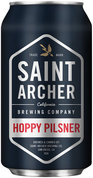 Saint Archer Brewing Company Hoppy Pilsner Beer 12 fl. oz. Can