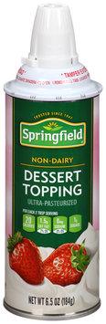 Springfield® Non-Dairy Dessert Topping 6.5 oz. Aerosol Can