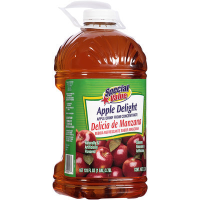 Special Value Apple Drink from Concentrate 1 Gal. Jug