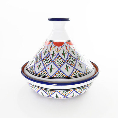 Le Souk Ceramique Tabarka 12-in. Cookable Tagine