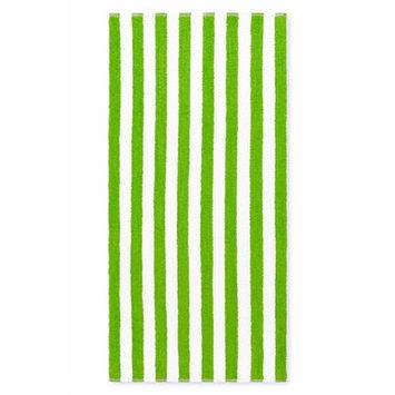 Crover Cabana Stripe Beach Towel Color: Lime Green