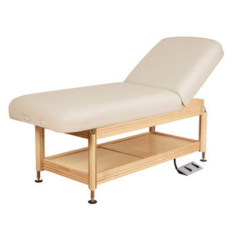 Oakworks Clinician Electric Hydraulic Lift Assist Backrest Top Color: Opal