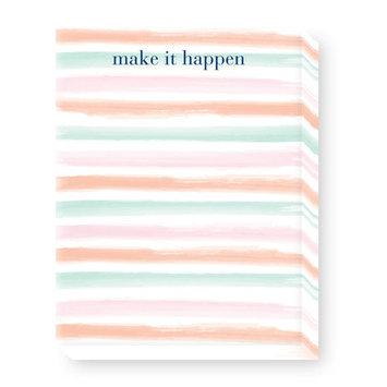 Ann Page Watercolor Stripes Mini Notepad