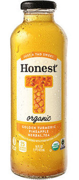 Honest® T Organic Golden Turmeric Pineapple Herbal Tea