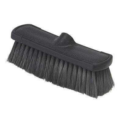 Carlisle Nylon Flothru Brush Black 10in -3636803