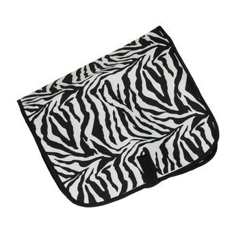 Household Essential 6930-1 Hanging Cosmetic Travel Bag - Zebra