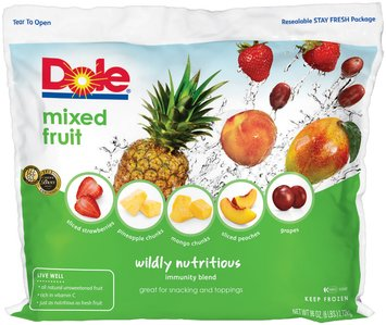 Dole® Wildly Nutritious Immunity Blend Mixed Fruit with Grapes 96 oz. Bag