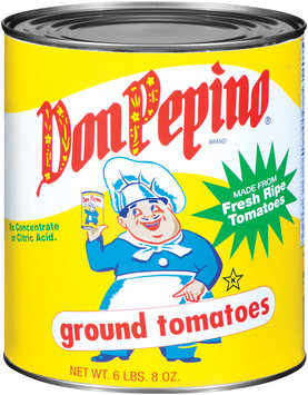 Don Pepino Ground Tomatoes 104 Oz Can