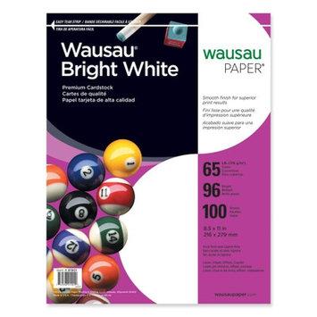 Wausau Papers Cardstock Paper, 65 Lb, 8-1/2