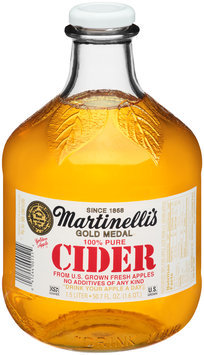 Martinelli's Gold Medal® 100% Pure Cider 50.7 fl. oz. Bottle